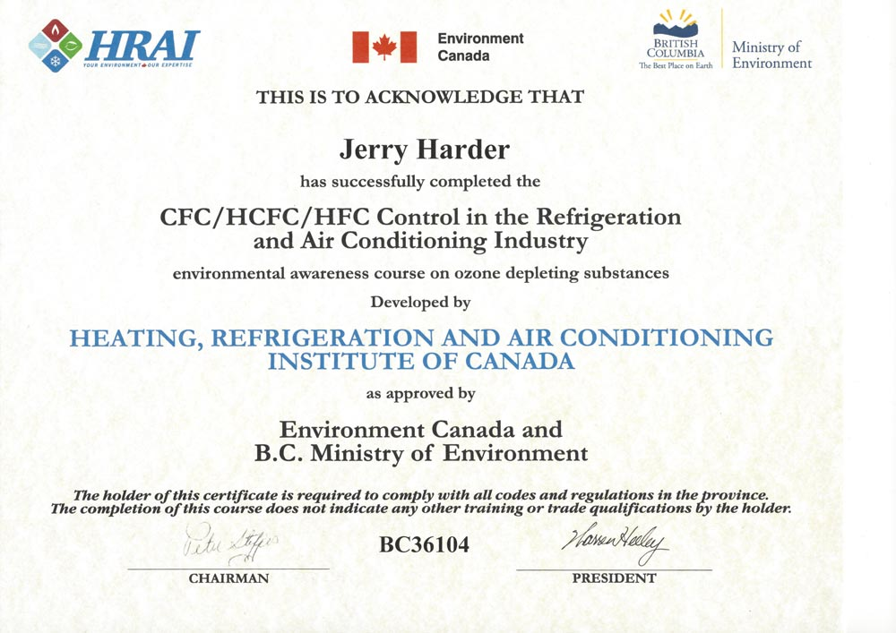 Kool Air King Now Hrai Certified For Heating And Cooling